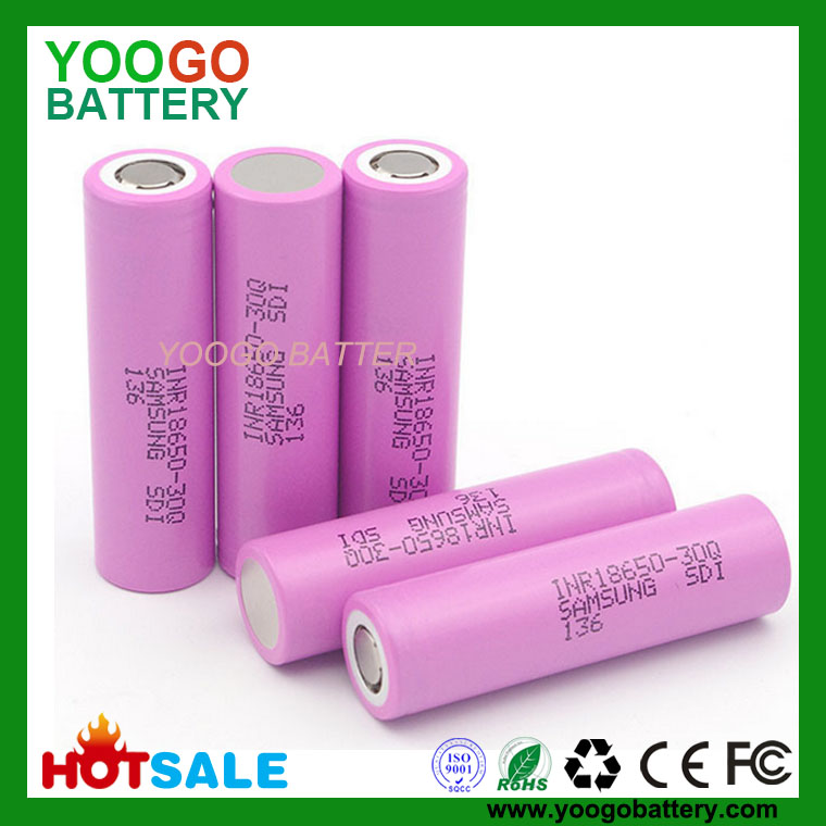 New Arrivals Inr18650 30q Samsung 18650 3000mah 15a High Power Battery For Power Tools