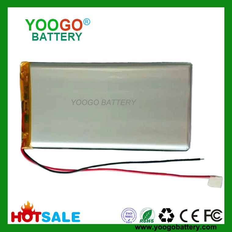 606090 4000mAh 3.7V Lithium Polymer Battery for GPS Power bank