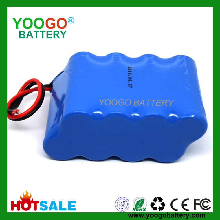 14.8V 5200mAh 4S2P high quality Vacuum cleaner lithium ion battery packs with 8 original Samsung ICR18650-26F 2600mAh cells