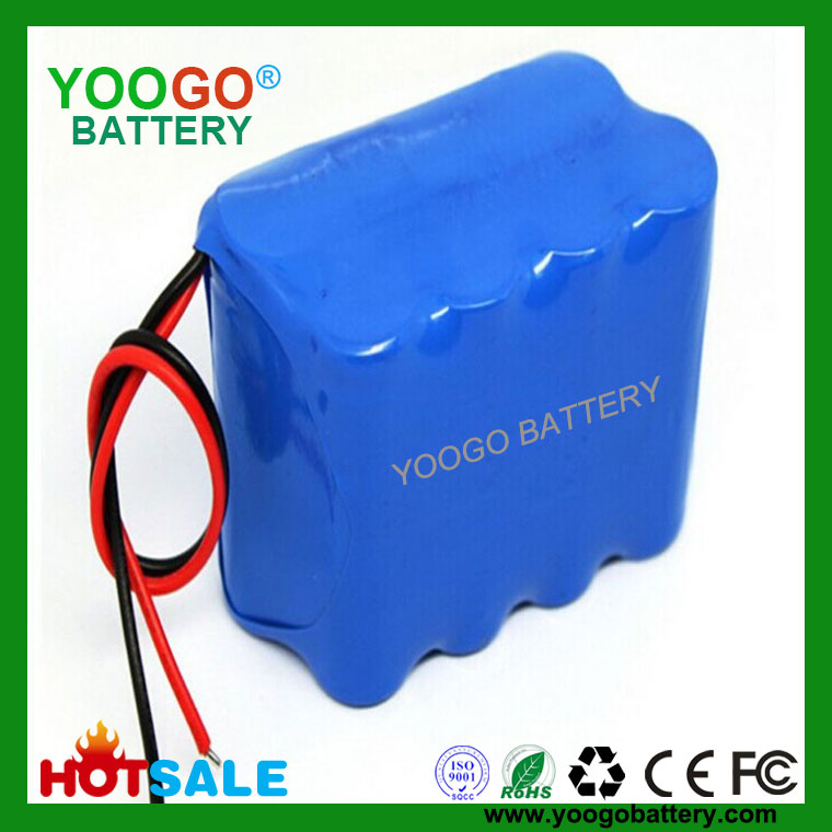 14.8V 6800mAh 4S2P high quality Medical Equipment lithium ion battery pack assembled with 8 original Panasonic NCR18650B 3400mAh cells